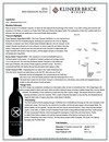2016 Brickmason Red Blend Tech Sheet