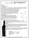 2016 Cabernet Sauvignon Technical Sheet