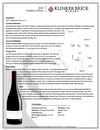 2015 Klinker Brick Farrah Syrah Tech Sheet