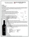 2015 Klinker Brick Marisa Vineyard Tech Sheet