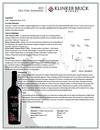 2016 Old Vine Zinfandel Tech Sheet